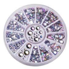 plastic nail art gems ebay