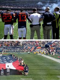what nfl team has the most fans nationwide what every n f l team did during the national anthem on sunday