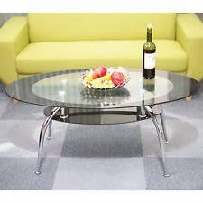 Metal Glass Coffee Table Glass Coffee Tables Ebay