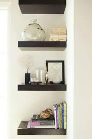 contemporary corner shelf home design