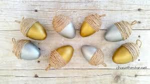 easy thanksgiving decor craft diy painted acorns la academy