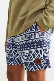 Without Walls Clothing by Without Walls French Terry Beach Short In Blue For Men Lyst