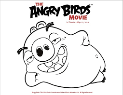 angry birds coloring pages free mediafoxstudio