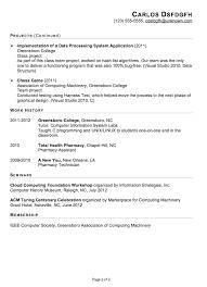 splendid ideas sample resume for internship 7 functional for an it