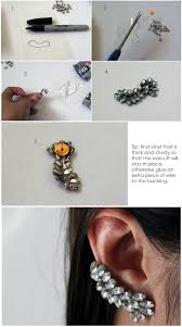 how to make ear cuffs diy ear cuff my secrets