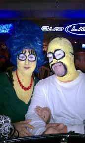Marge Simpson Halloween Costume Marge Homer Couple Costume