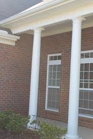 exterior entrancing small front porch decoration using white wood