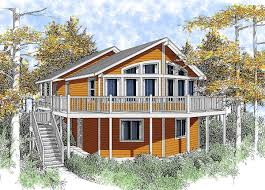 wide open lakefront home plan 14001dt architectural designs