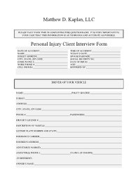 client intake form law firm pdf templates fillable u0026 printable
