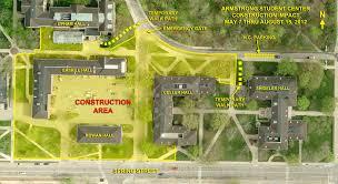 Miami University Map Contruction Updates