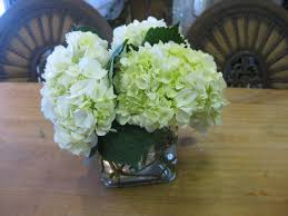 Small Flower Arrangements Centerpieces Hydrengia Vases Flowers Simply Insert Them Right Into The