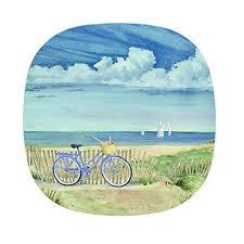 Nautical Themed Dinnerware Sets - beach themed dinnerware sets amazon com