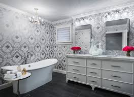 wallpaper ideas for bathrooms wallpaper ideas for bathroom home design ideas and pictures