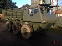 amphibious dodge truck stalwart 6 x 6 amphibious stolly off road military mod army nato