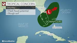 Weather Map Of Florida by Downpours To Persist In Florida As Tropical System Lingers Near