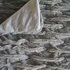 Fake Fur Throws Amazon Com Fashion St Faux Fur Ultra Soft Throw Blanket 50 By
