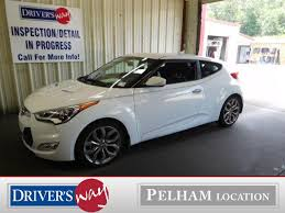 hyundai veloster reflex white hyundai veloster in alabama for sale used cars on