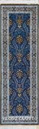 Silk Turkish Rugs Blue Rug Runner Persian Rug Oriental Turkish Carpet Hand Knotted