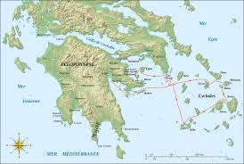 Greece Islands Map by Map Of Greek Islands