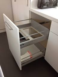 kitchen bin ideas awesome kitchen non flimsy height 24 wide recycling and trash