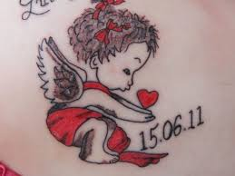 25 original cherub tattoos