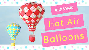 how to make paper air balloons youtube