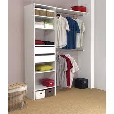 rangement placard chambre dress kit aménagement de placard 1m80 x 2m05 achat vente