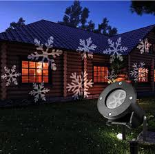 Outdoor Christmas Light Projector by Christmas At Home Snowflake Projectors