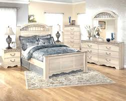 Diy Dream Home by Distressed Furniture White Wood Frame Beds Bedroom Ideas Set