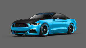 cool ford mustangs 2015 ford mustang to take sema by with 12 custom