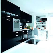 cuisine noir laqué meuble de cuisine noir cuisine meuble bas de cuisine noir laque