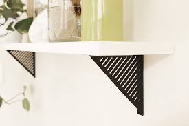 Lowes Floating Shelves by Tips U0026 Ideas Shelving Brackets Bookshelf Brackets Shelving