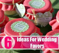 useful wedding favors six fabulous ideas for wedding favors how to plan for wedding
