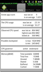 android cpu usage diagnosis monitor real time resource usage by individual android apps