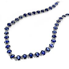 sapphire necklace price images D cor jewelry sensational september sapphires jpg