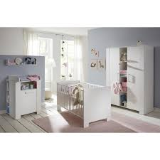ensemble chambre bebe ensemble chambre bébé 3 pièces avec lit 70x140 cm commode à langer