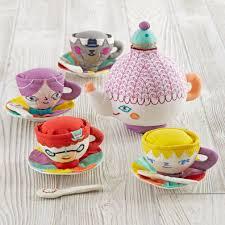 Crate And Barrel Tea Pot by Party Guests Tea Set The Land Of Nod
