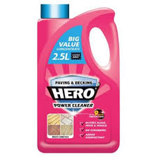 Doff Patio Cleaner Buy Hero Paving U0026 Decking Power Cleaner Concentrate 2 5l From Our