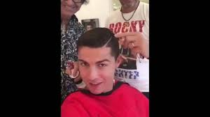 cristiano ronaldo hey guys wanna help me the best haircut