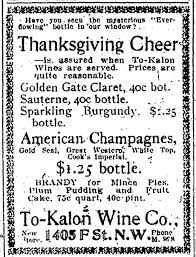 thanksgiving date 2006 thanksgiving cheer is assured when to kalon wines are served u201d the