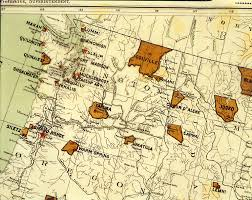 map usa indian reservations american indians of the pacific northwest collection