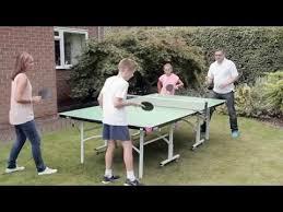 butterfly outdoor rollaway table tennis butterfly easifold outdoor rollaway table tennis table youtube