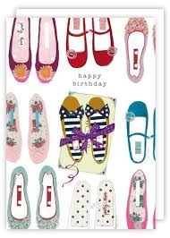 birthday cards with shoes shoes happy birthday card karenza paperie
