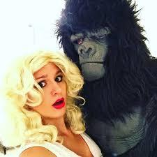 King Kong Halloween Costume 31 Creative Couples Costumes Halloween 2 3 Stayglam