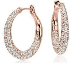 gold diamond earrings gold diamond hoop earrings designer diamond earrings
