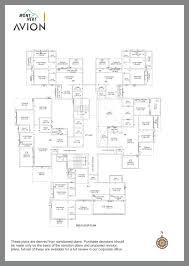 floor plans mont vert avion