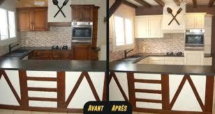 moderniser une cuisine en bois moderniser meuble chene relooker cuisine en bois relooker un