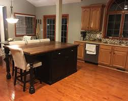 kitchen island with seating area kitchen island with seating etsy