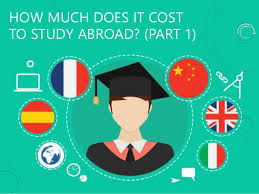 how much does it cost to study abroad part 1