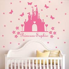 online buy wholesale castle room decor from china castle room w340 princess castle wall sticker with personalised name kids room decor vinyl wall decal nursery room